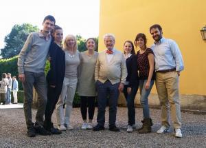 con Galway classe di Lugano
